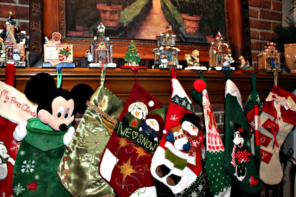 Stockings on the mantle