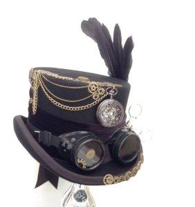 Steam Punk Hat www.chathamhillonthelake.com