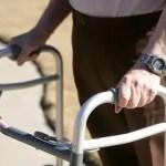 senior citizen walker