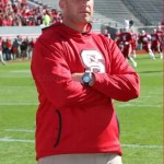 NC State football coach Dave Doeren