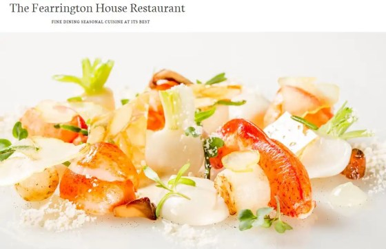 fearrington house food
