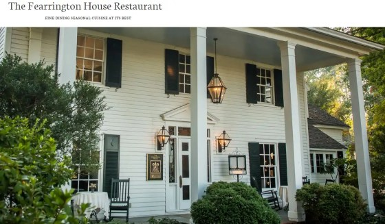 Fearrington House Restaurant