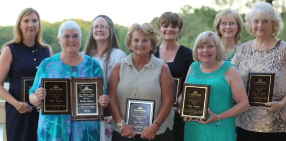 Chatham County Schools Retirees 31+ years