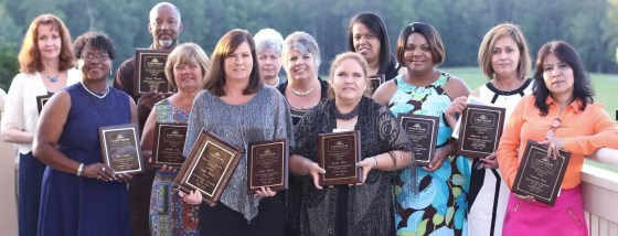 Chatham County Schools Instructional Assistants of the Year