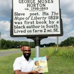 don tate and George Moses Horton poet book