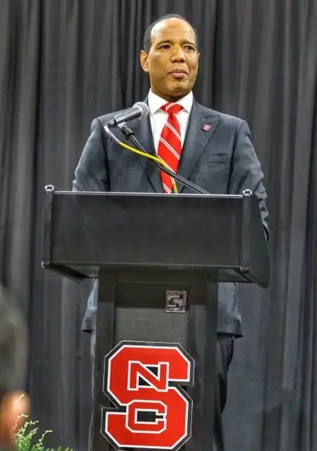NC State basketball coach Kevin Keatts.
