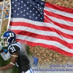 Duke football photo by Gene Galin