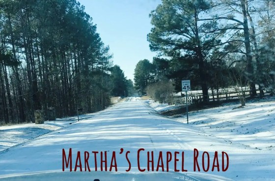 Martha's Chapel Road