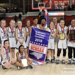 Mount Airy Bears are the 2018 1A Women's Basketball State Champions.