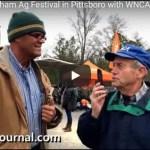 wnca radio at chatham ag festival