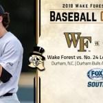 wfu acc baseball tournament gameday