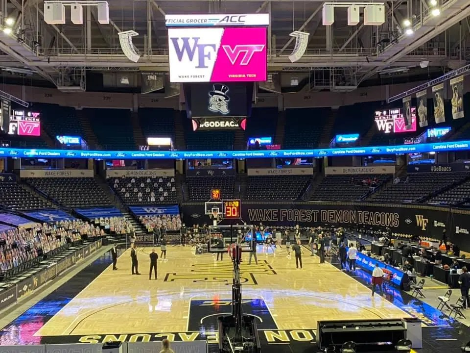 Wake Forest Demon Deacons close homestand with No. 20 Virginia Tech