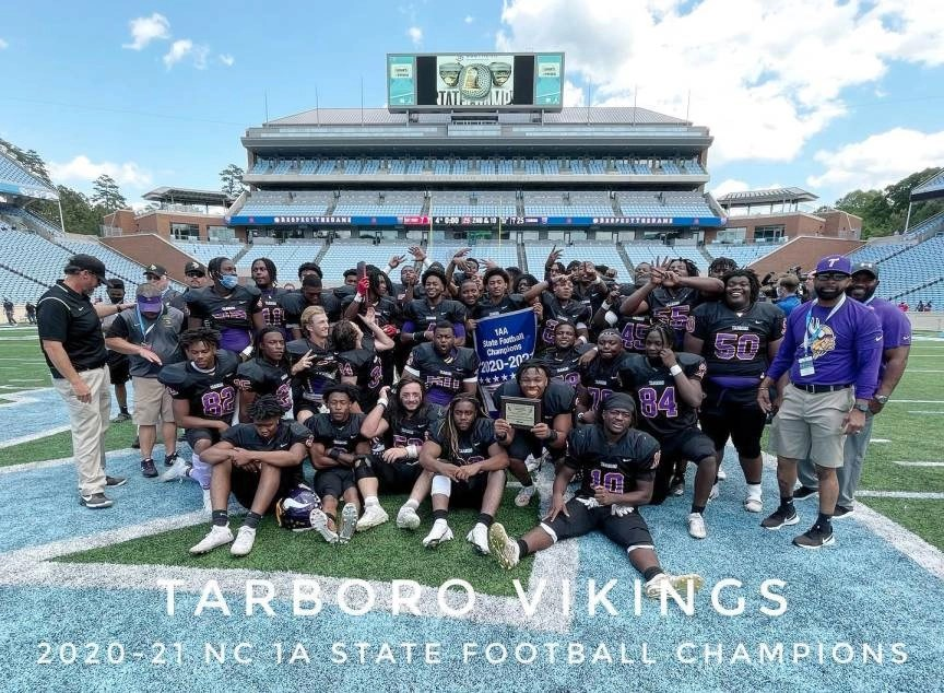 Tarboro knocks off East Surry for the second time in three straight State Football Championship games, 25-7