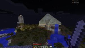 Les Pyramides et la Tour de Boulet-Time de nuit