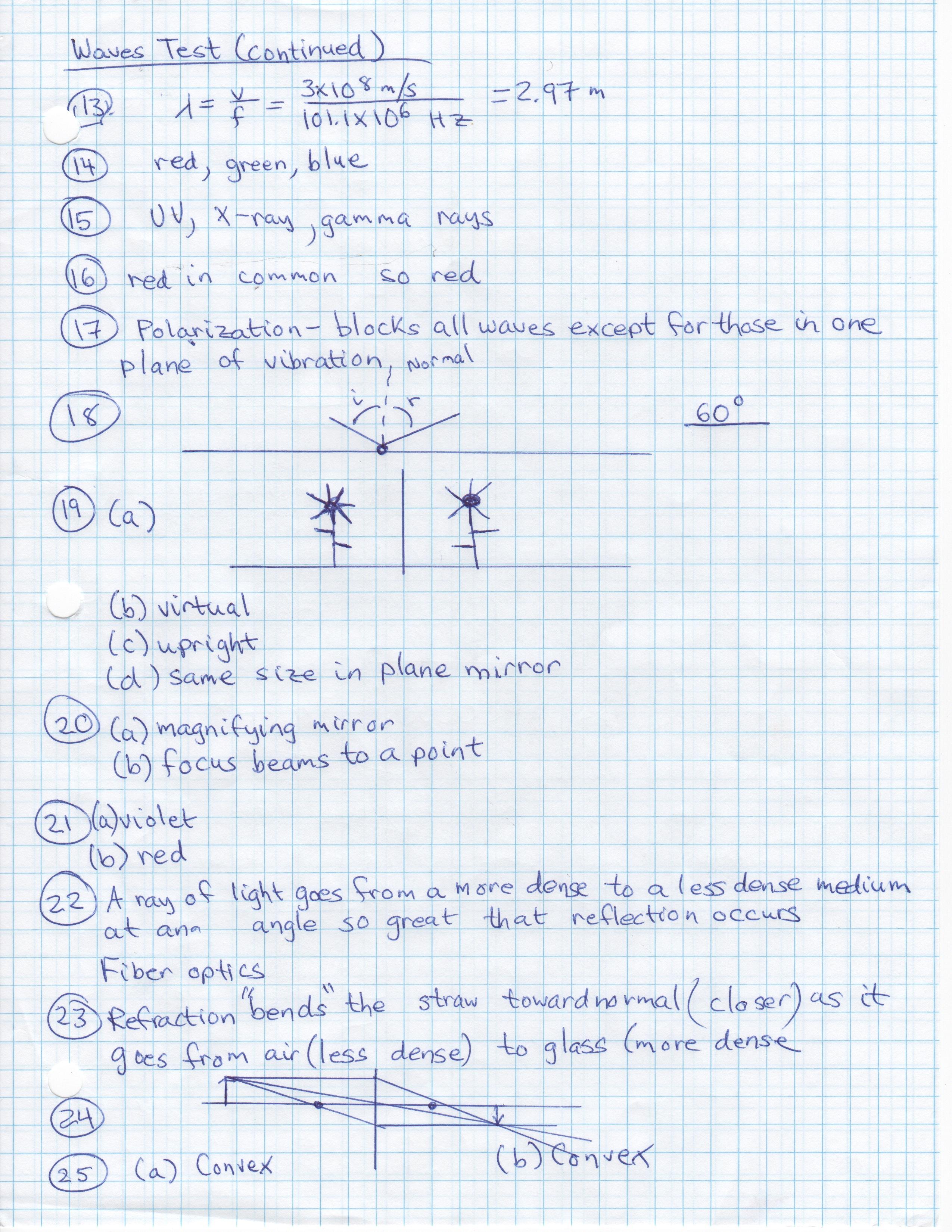 Conceptual Physics Semester 2