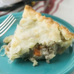 This classic chicken pot pie is exceedingly simple but totally from scratch. It is the perfect cool weather comfort food! | Recipe from Chattavore.com