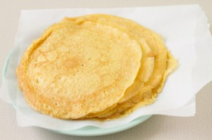 Buttermilk-Whole Wheat Crepes