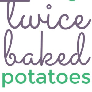 These easy twice baked potatoes are a perfect, classic side for any meat that you serve, but they're also great as the centerpiece with a salad and bread! | recipe from Chattavore.com