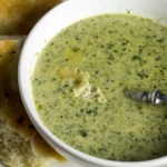 Spinach-Cheese Soup from Scratch
