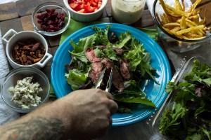 steak & fries salad   chattavore (7 of 29)