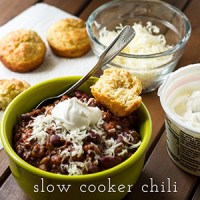 slow cooker chili | chattavore