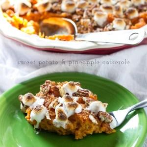 sweet potato & pineapple casserole   chattavore