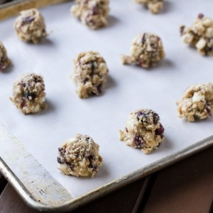 cranberry white chocolate chip cookies | chattavore
