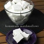 Homemade Marshmallows (Plain or Peppermint!)