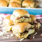 Party Sandwiches with Bacon and Cheese