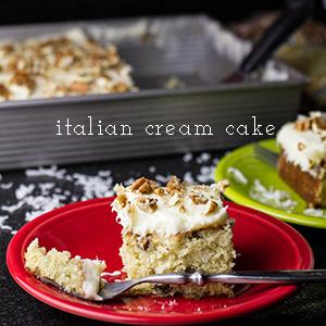 Italian Cream Cake | Chattavore