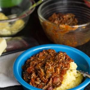 Pork Ragu with Polenta   chattavore