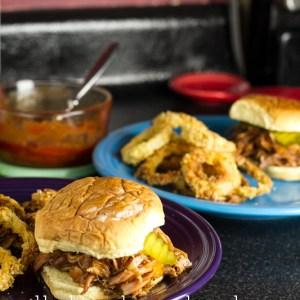Pork Sandwiches with Peach BBQ Sauce | Chattavore