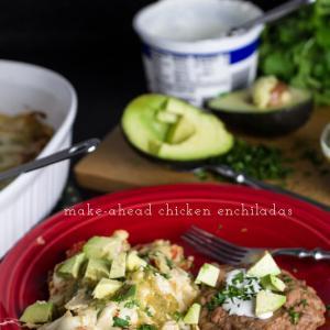 white chicken enchiladas // chattavore