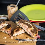 Reuben Sandwiches from Leftover Corned Beef