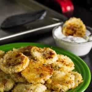 cheesy mashed potato bites from Chattavore
