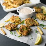 Shrimp and Corn Fritters
