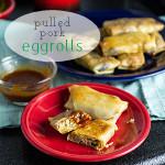 Pulled Pork Egg Rolls (Made from Leftovers)