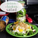 Asian Chicken Salad (in a Mason Jar)