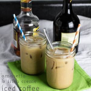 In the summertime, drinking coffee during the daytime can be a bit problematic, but that problem is easily solved with this amaretto & irish creme #IcedCoffee   chattavore.com