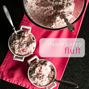 Strawberry fluff is a simple and delicious 6-ingredient dessert! | chattavore.com