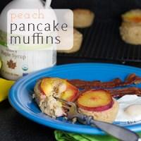Peach Pancake Muffins!