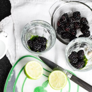 This virgin blackberry mojito is perfect for those hot summer days when you want a fruity drink but don't want to bother with alcohol!   chattavore.com