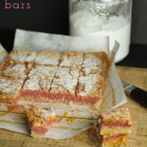 These cherry limeade bars are a delicious summer dessert! By Chattavore on Plating PIxels