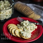 Easy Chickpea Salad with Shallots