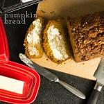Pumpkin Quick Bread from Domestic Chic