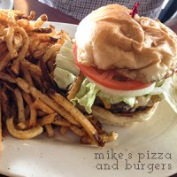 Mike's Pizza and Burgers is a great spot for, well, pizza and burgers, in Fort Oglethorpe, Georgia! | chattavore.com
