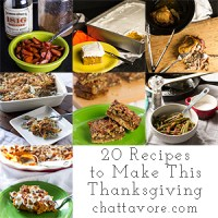 If you need a little Thanksgiving inspiration, check out this list of 20 fabulous Thanksgiving dishes! | chattavore.com