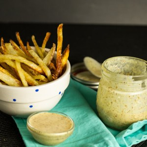This honey mustard dipping sauce is quick and simple to make and just as delicious - if not more delicious than - any store bought honey mustard!   chattavore.com