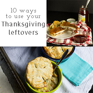 If you need some new ideas for your Thanksgiving leftovers, check out these 10 ways to use Thanksgiving leftovers! | Chattavore.com