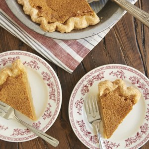brown butter chess pie from Bake or Break